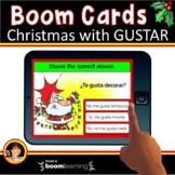 Spanish Christmas | Spanish Christmas Boom Cards | Spanish Gustar