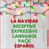 Spanish Speech Therapy - La Navidad Receptive & Expressive Language Pack