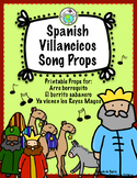 Spanish Christmas Villancicos Printable Song Props