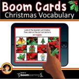 Spanish Christmas Vocabulary | Spanish Boom Cards | La Navidad