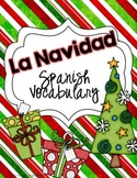 Spanish Christmas Vocabulary Card Game