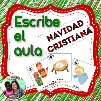 Spanish Christmas Write the Room Bundle