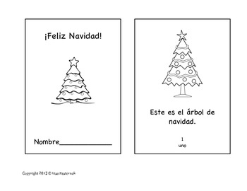 Spanish Christmas and New Year Mini-Book Pack