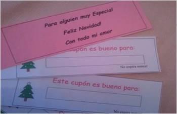 Spanish Christmas coupon book