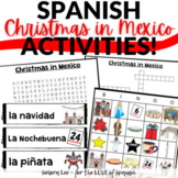 Spanish Christmas Activities Bundle - Christmas in Mexico