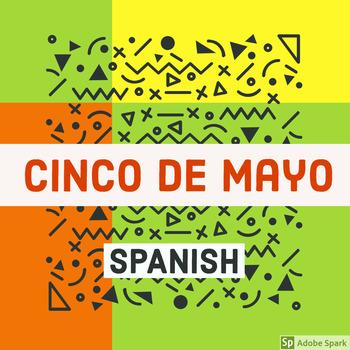 Spanish Cinco de Mayo Activity Sheets