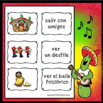 Spanish Cinco de Mayo Conversation Cards