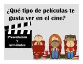 Spanish Cine y Peliculas Presentacion y Actividades