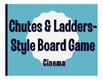 Spanish Cinema Chutes and Ladders-Style Game