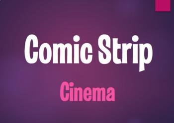 Spanish Cinema Comic Strip