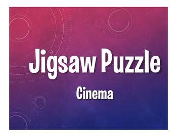 Spanish Cinema Jigsaw Puzzle