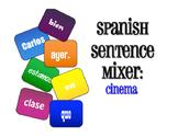 Spanish Cinema Sentence Mixer