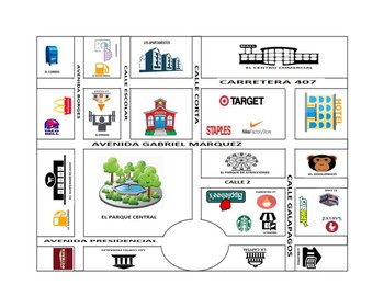 Spanish City Maps Worksheets & Teaching Resources | TpT on
