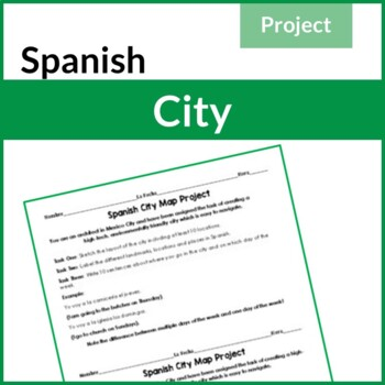 Spanish City Map Project