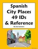 Spanish City Places 49 IDs & Reference - Lugares en la Ciudad