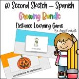 Spanish Class - 60 Second Sketch Growing Bundle