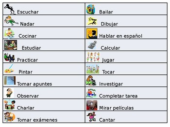 Spanish- Class Adjective Guided Notes