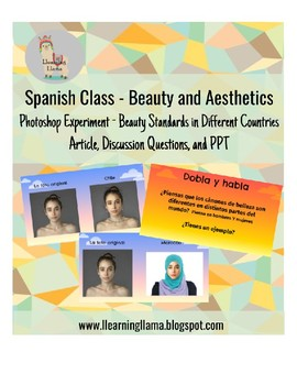 Spanish Class Beauty and Aesthetics Beauty in Different Cultures