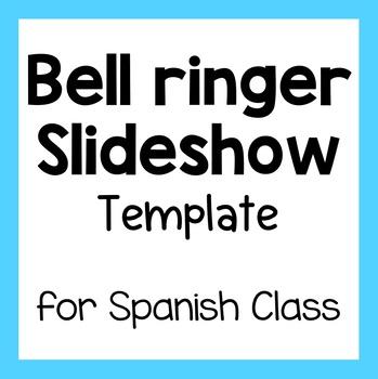 Spanish Class Bellringer - Slideshow Template