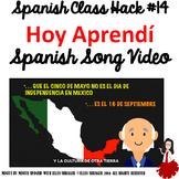 014 Spanish Class Closure: Hoy Aprendí Music Video Improves Class Management