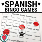 Spanish Commands BINGO - Beginning Spanish