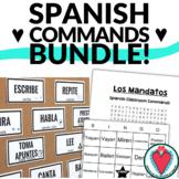 Spanish Classroom Commands - Bundle of Activities for Span