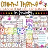 Spanish Class Decor Bundle - Otomi Theme