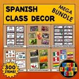 Spanish Class Decor, Decorations, Posters, Labels Bundle