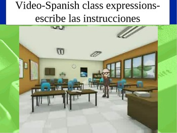 Spanish Class Expressions Power Point