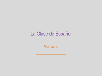 Spanish Class: First Day Lesson Plan & Student Questionnaire