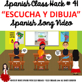 041 Spanish Class Hack to 90% TL and Improved Classroom Management:  Listen Draw
