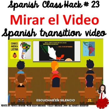 Spanish Class Hack to 90% TL and Improved Classroom Management:Mirar el Video
