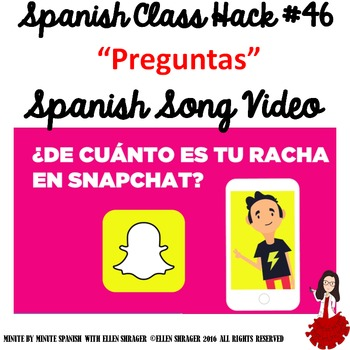 Spanish Class Hack to 90% TL and Improved Classroom Management:Preguntas