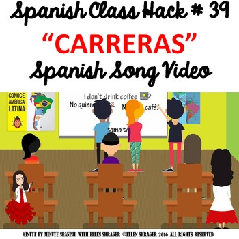 039 Spanish Class Hack to 90% TL and Improved Classroom Management:  Races