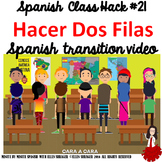 021 Spanish Class Hack to 90% TL _ Improved Classroom Managment:  Make Two Rows