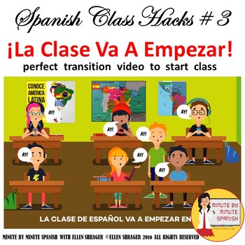 Spanish Class Hack to 90% TL and Improved Classroom Managment Start of Class