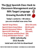 250 Spanish Class Hacks Growing Bundle of Videos