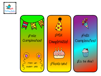 Spanish Class Happy Birthday Printables
