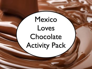 Spanish Class Mexico Loves Chocolate Activity - Article, Questions, Song
