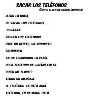 101 Spanish Class Musical Video - Put Away Your Phones CI 90% TL TCI