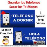 Spanish Class Musical Video - Put Away Your Phones CI 90% TL TCI