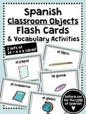 Spanish Class Object Flash Cards - Los Útiles Escolares