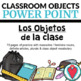 Spanish Class Objects BUNDLE - Bingo, Word Search, Crossword