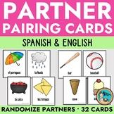 Spanish Class Partner Matching Cards