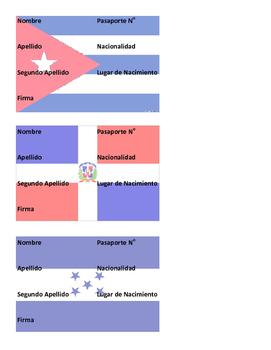 Spanish Class Passport