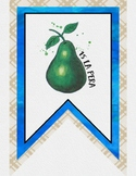Spanish Class Pennant Banner - Loteria Theme
