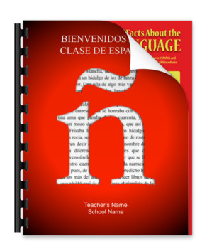 Spanish Class Rules and Procedures for Back to School (Flipbook Template)
