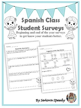 Spanish Class Student Surveys