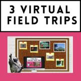 Spanish Sub Plan - 3 Virtual Field Trips