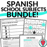 Spanish Class Subjects Bundle - Names of High School Classes